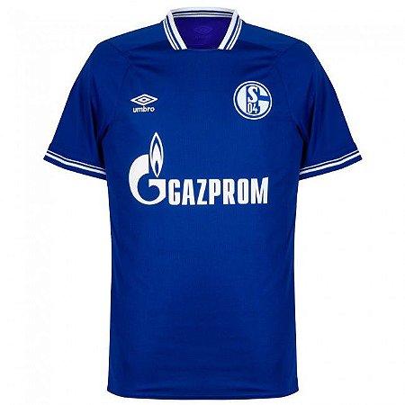 Camisa de Time Schalke 04 I Azul Masculina