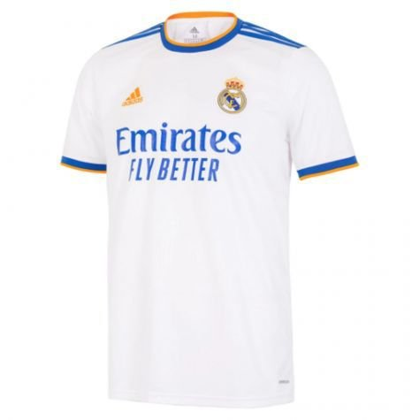 Camisa de Time Real Madri I Branca Masculina 2022