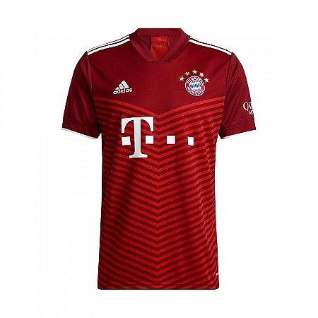 Camisa de Time Bayer de Munique I Vermelha Masculina 2022