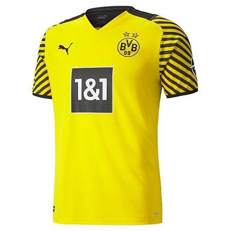 Camisa de Time Borussia Dortmund I Amarela Masculina 2022