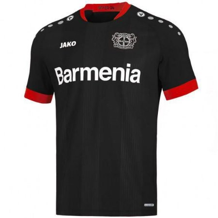 Camisa de Time Bayer Leverkusen I Preta Masculina 2022