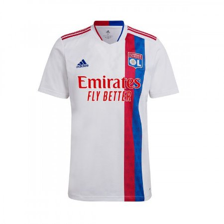 Camisa de Time Lyon I Branca Masculina 2022