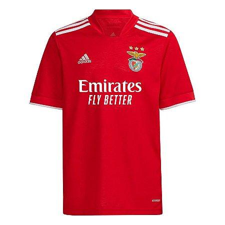 Camisa de Time Benfica I Vermelha Masculina 2022