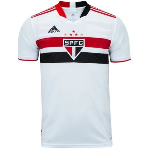 Camisa de Time Sao Paulo I Branca Masculina 2022