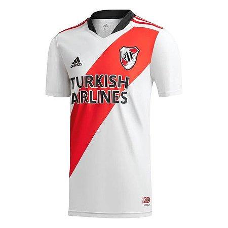 Camisa de Time River Plate I Branca Masculina