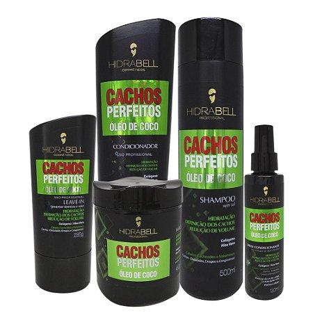 Kit Cachos Perfeitos Hidrabell