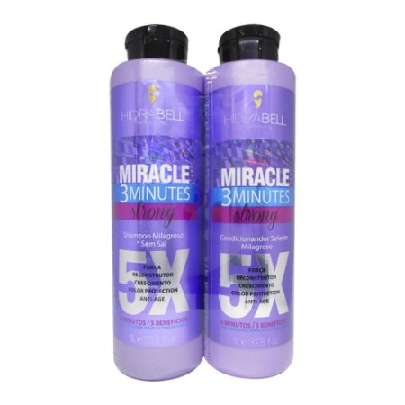 Kit Miracle Strong Hidrabell