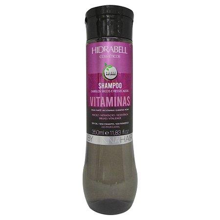 Shampoo Vitaminas Hidratação Capilar 300ml Hidrabell