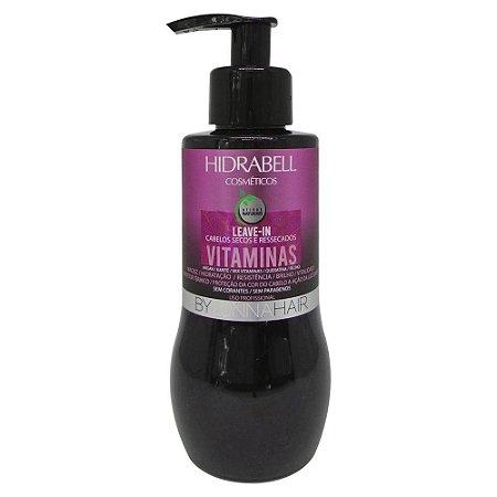 Leave-in - Creme de Pentear Vitaminas Hidratação Capilar Hidrabell