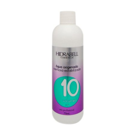 Água Oxigenada 10 Vol. Hidrabell 75ml
