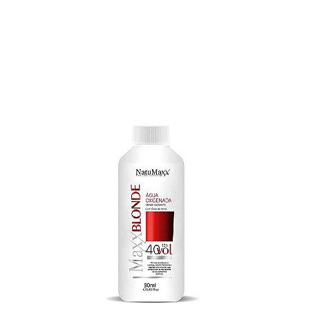 Água Oxigenada Ox MaxxBLONDE 40 Vol  NatuMaxx  90ml