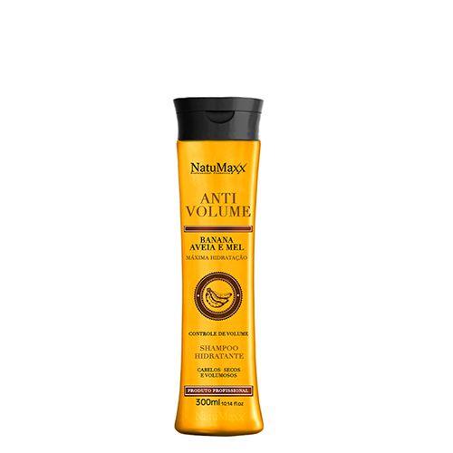 Shampoo AntiVolume Banana Aveia e Mel NatuMaxx 300ml