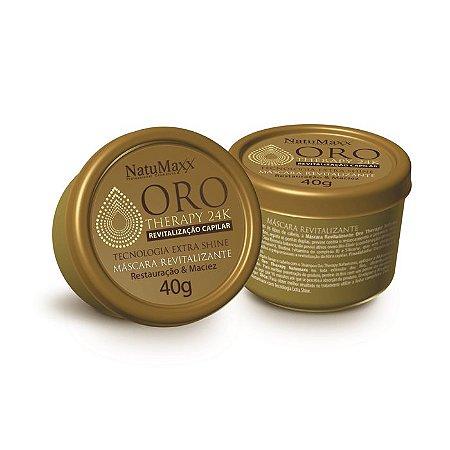 Máscara Capilar Oro Therapy NatuMaxx 40g
