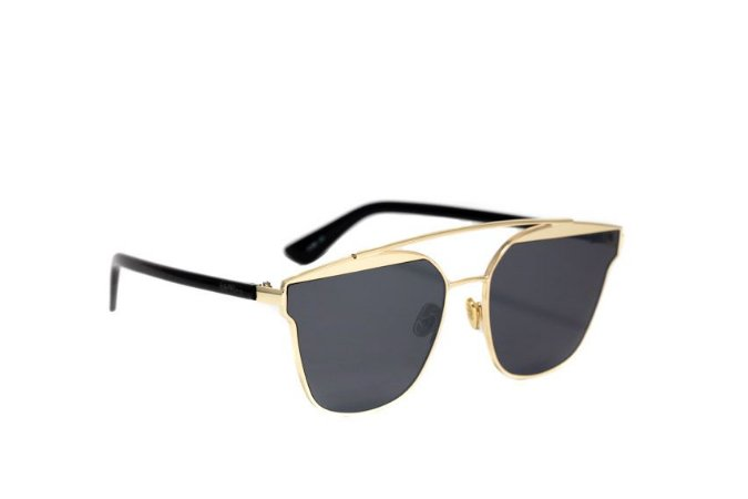 Óculos de sol Ohtica S30043 - Preto/Dourado