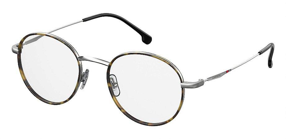 Óculos de grau Carrera 157/V 6LB 4820-Prata/Havana