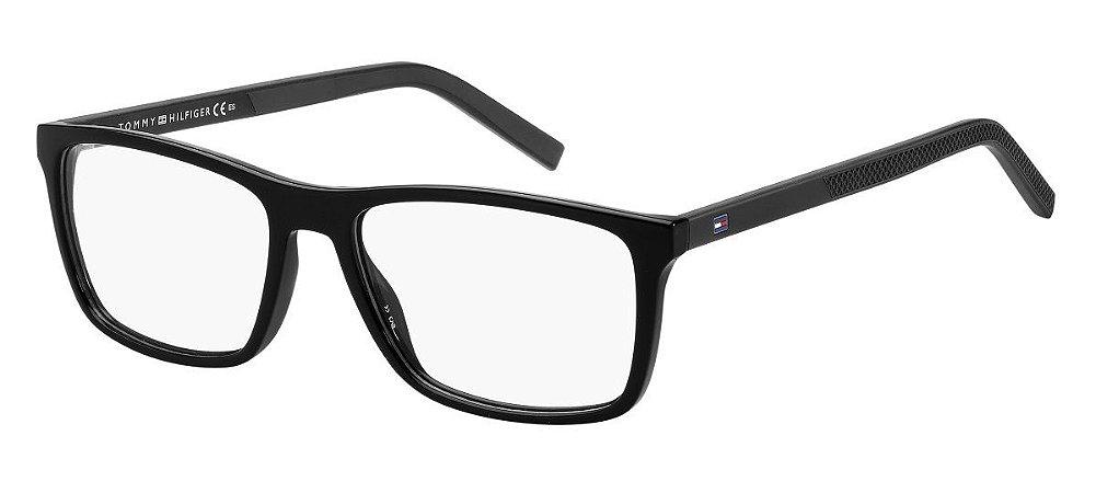 Óculos de grau Tommy Hilfiger TH1592 807 5517-Preto