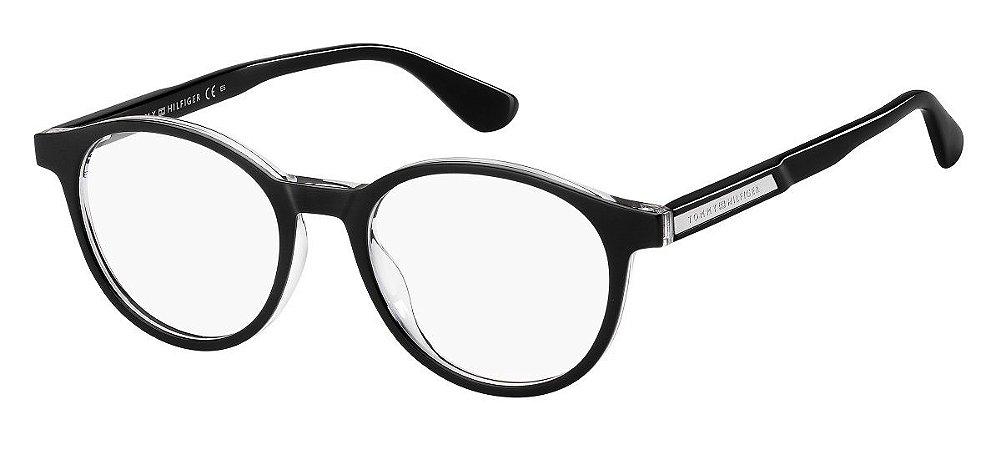 Óculos de grau Tommy Hilfiger TH1703 7C5 4918-Preto