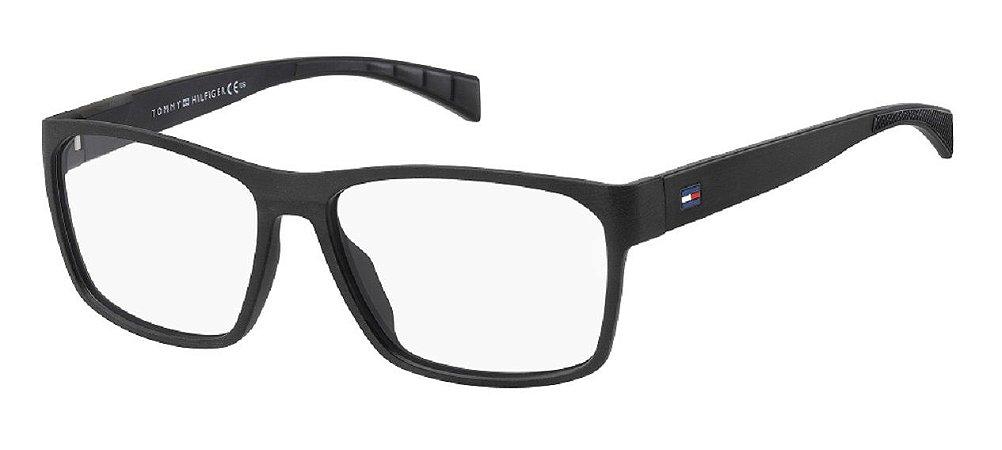 Óculos de grau Tommy Hilfiger TH1747 003 5515 R-Preto