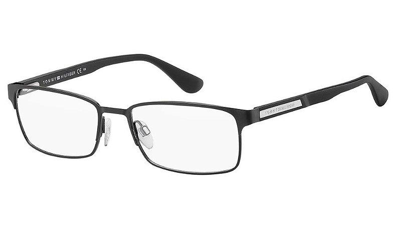 Óculos de grau Tommy Hilfiger TH 1545 003 5518 - Preto