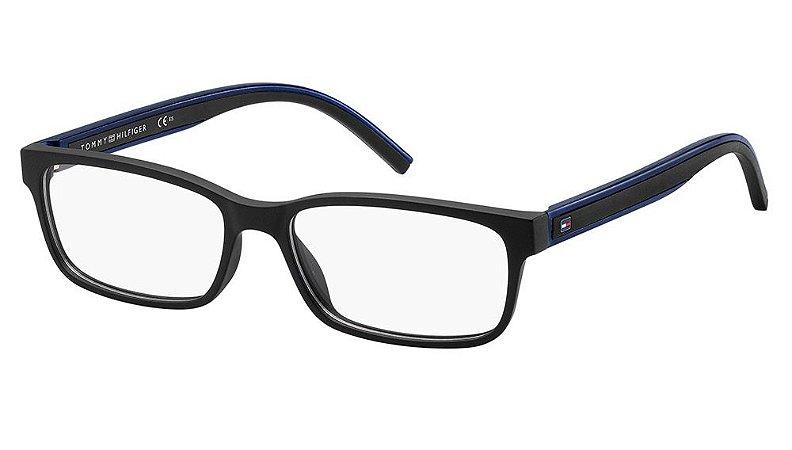 Óculos de grau Tommy Hilfiger TH 1495 003 5416 - Preto