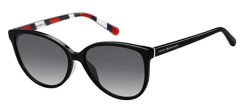 Óculos de sol Tommy Hilfiger TH1670/S 807 579O-Preto