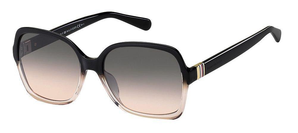 Óculos de sol Tommy Hilfiger TH1765/S KDX 58FF- Black Nude