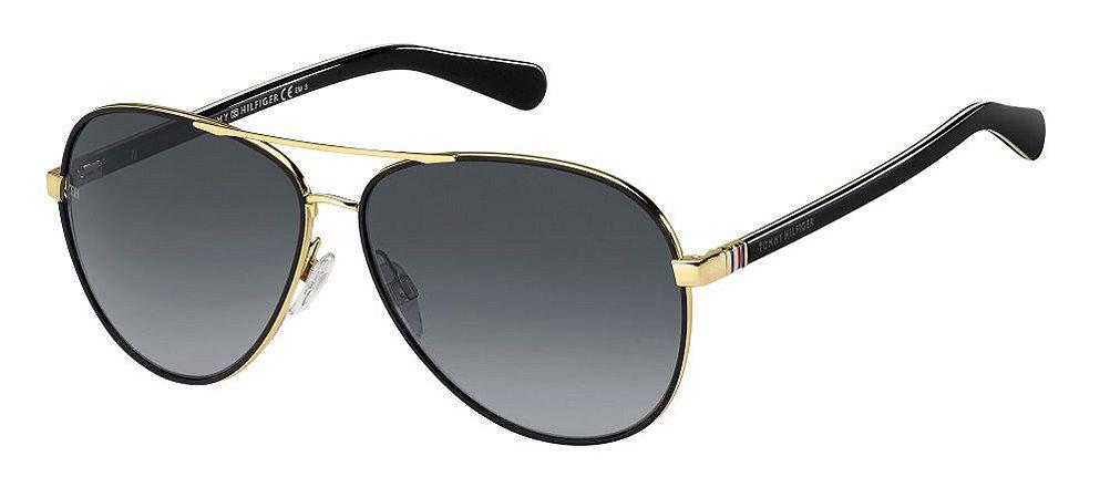 Óculos de sol Tommy Hilfiger TH1766/S 000 619O -Gold/Black