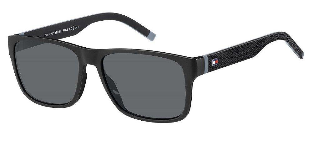 Óculos de sol Tommy Hilfiger TH1718/S 08A 56IR-Preto