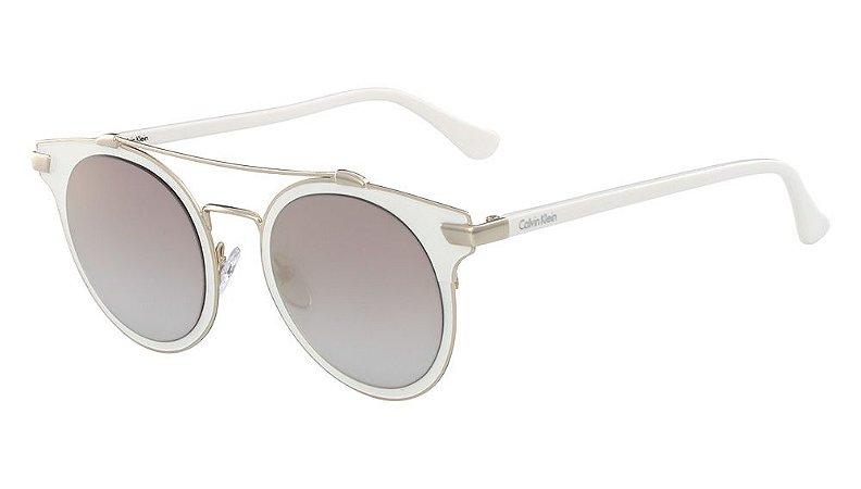 Óculos de sol Calvin Klein CK2149S 108 - Branco