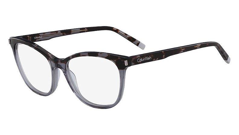 Óculos de grau Calvin Klein CK5975 037-Havana/Cinza