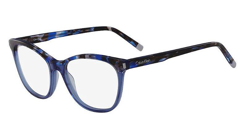 Óculos de grau Calvin Klein CK5975 435 -Havana/Azul