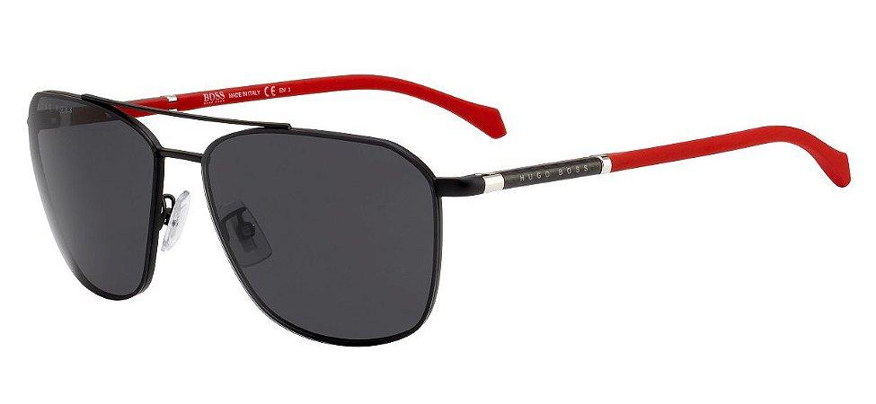 Óculos de sol Hugo Boss 1103/F/S 003 62IR-Preto/Vermelho