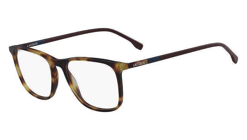 Óculos de grau Lacoste L2823 214 - Tortoise