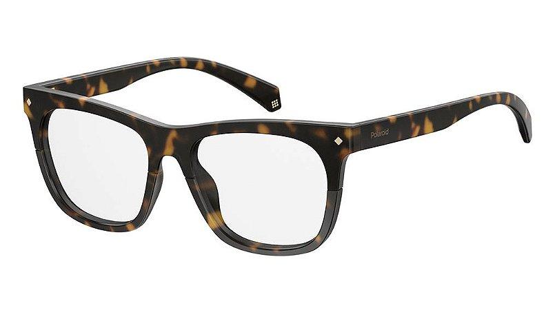 Óculos de grau Polaroid PLD.D344 086 5217 -Tortoise