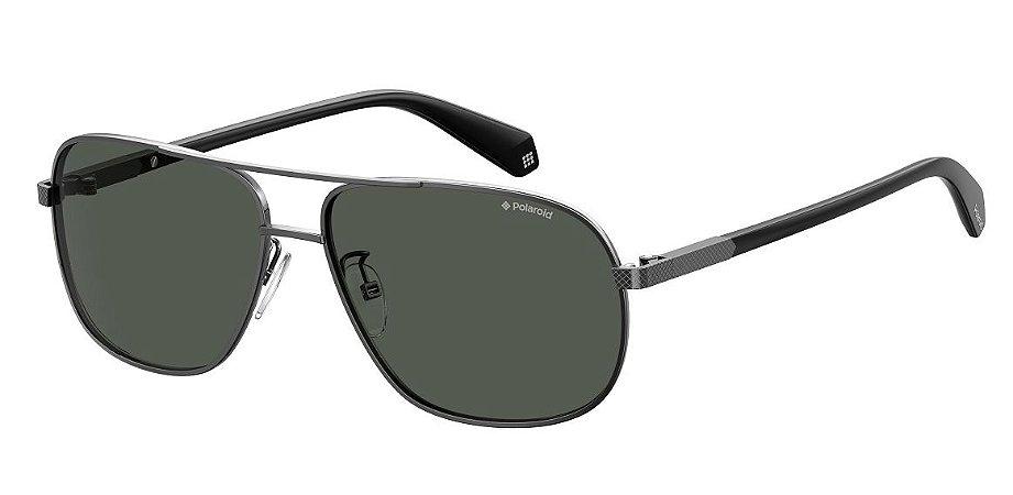 Óculos de sol Polaroid PLD2074/S/X KJ1 60M9-Preto