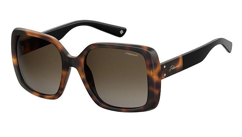 Óculos de sol Polaroid PLD4072/S 086 55L -Tortoise