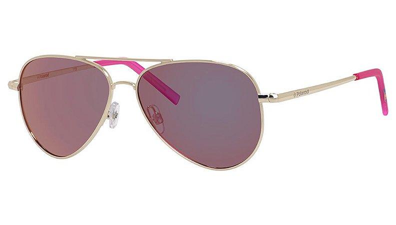 Óculos de sol Polaroid PLD8015/N J5G-Rosa e Dourado