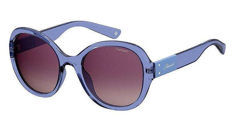 Óculos de sol Polaroid PLD4073/S PJP 55JR - Azul