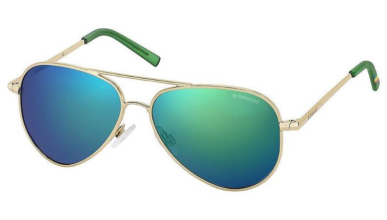 Óculos de sol Polaroid PLD8015/N J5G 52K7-GOLD