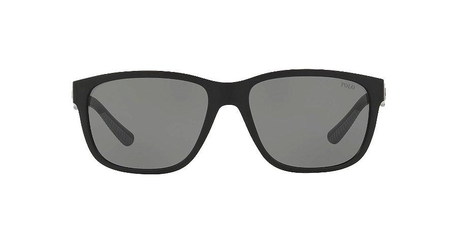 Óculos de sol Polo Ralph Lauren 0PH4142 528487 57-Preto
