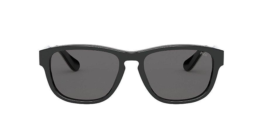 Óculos de sol Polo Ralph Lauren 0PH4158 500187 55-Preto