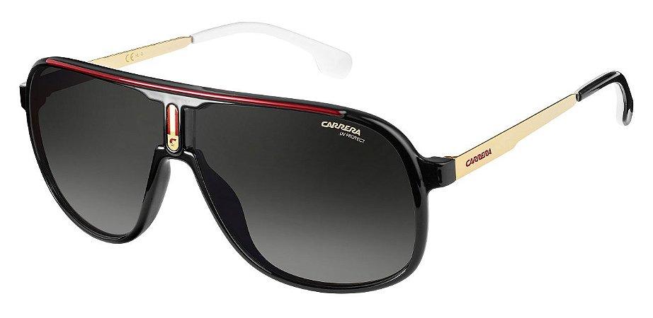 Óculos de sol Carrera 1007/S 807 629O-Preto/Gold