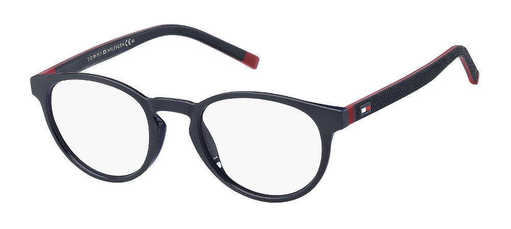 Óculos de grau Tommy Hilfiger TH 1787 FLL 4921-Azul