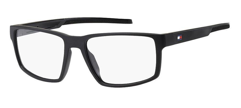 Óculos de grau Tommy Hilfiger TH 1835 003 5417-Preto fosco