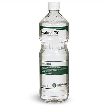 Álcool Etílico Rialcool 70% 1L