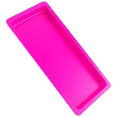 Bandeja Autoclavável Maquira 22x12x1,5cm Pink