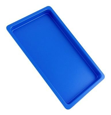 Bandeja Autoclavável Maquira 22x17x1,5 Azul
