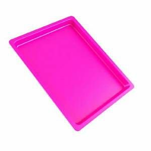 Bandeja Autoclavável Maquira 22x17x1,5 Pink