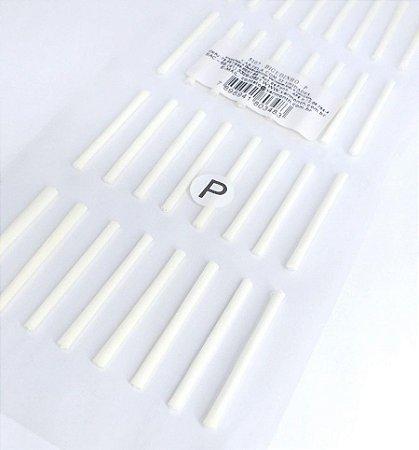 Bigudinho para permanente de cílios P com 32un