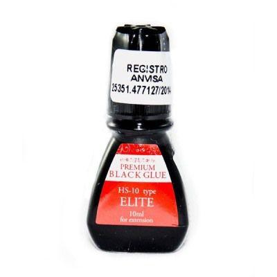Cola Elite Premium Black p/ Alongamento de Cílios 10ml